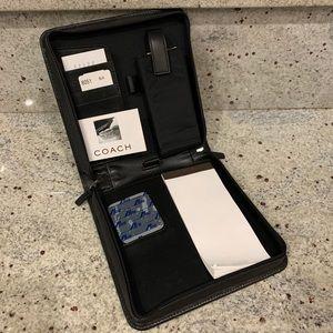 Coach mini portable office - leather
